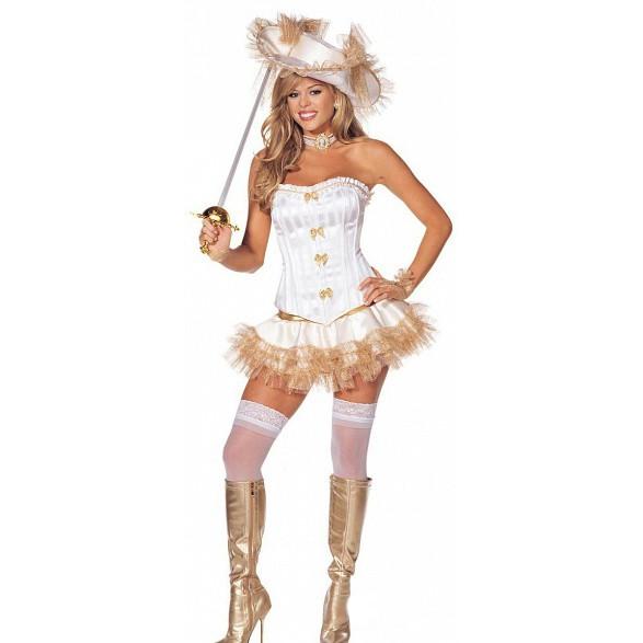 Женский костюм мушкетера