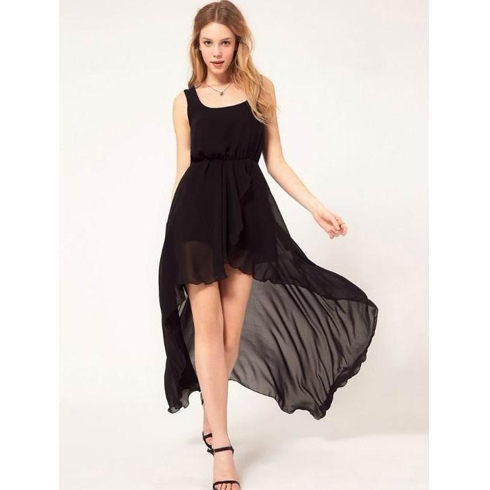 Летнее Платье С Подолом