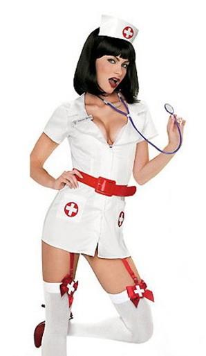 Сексуальный костюм медсестры фото